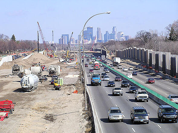 Minnesota hot shot trucking highway construction