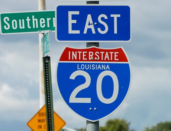 For Hot Shot Trucking in Louisiana I-20 Remains Critical