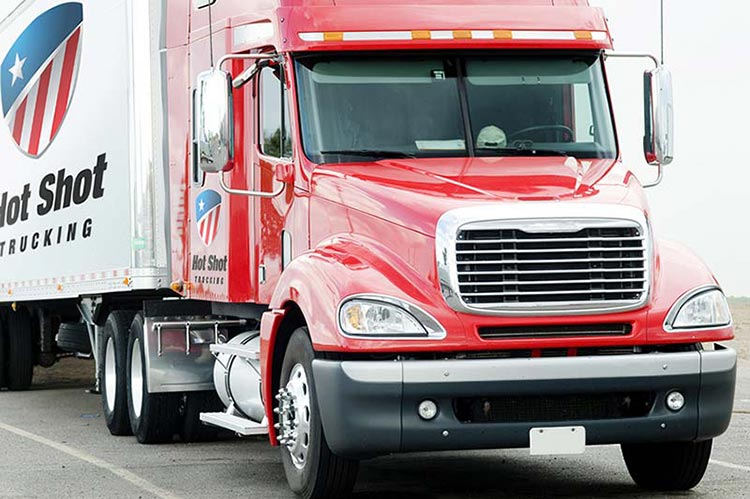 Hot Shot Trucking Palo Alto California