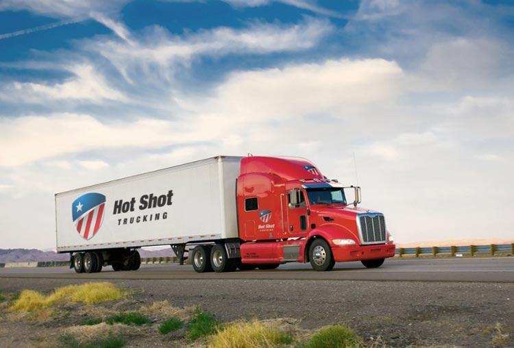 Hot Shot Trucking Services North Dakota