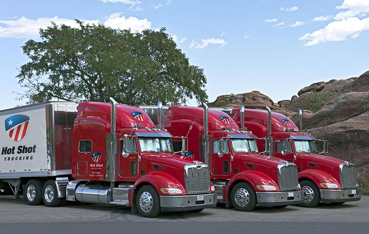 Hot Shot Trucking Services Oregon