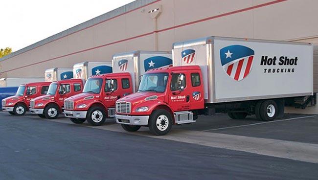 Hot Shot Trucking Irvine
