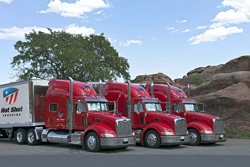 Hot Shot Trucking Spartanburg South Carolina