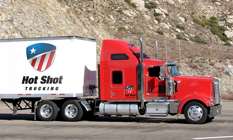 Hot Shot Delivery Trucks
