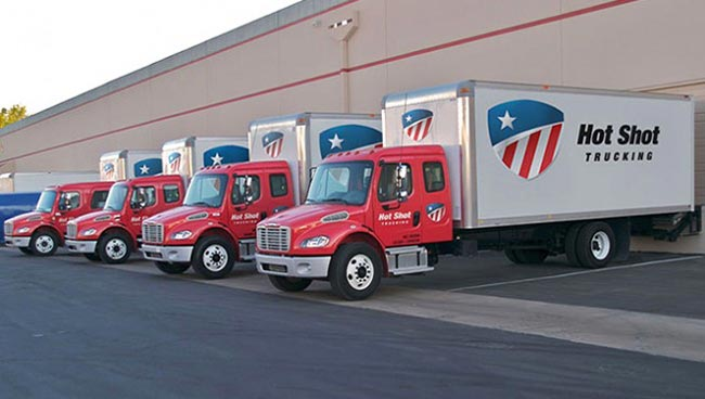 Overnight Shipping Trucks